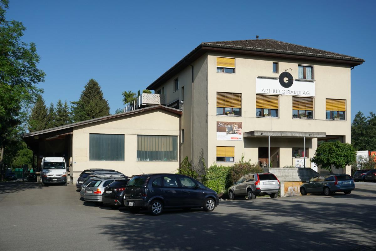 Betriebsgebäude der Arthur Girardi AG