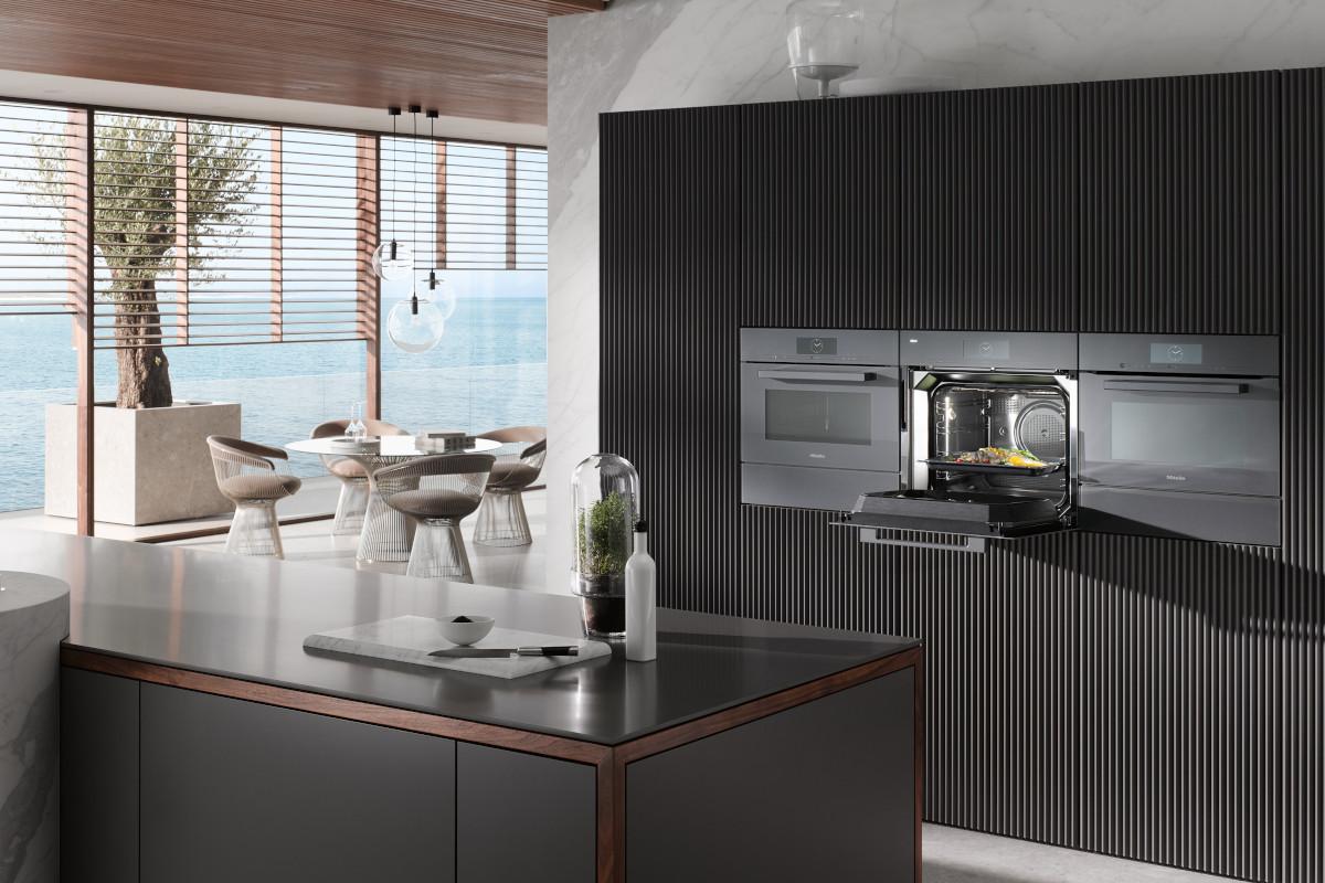 Küche mit neuen Miele-Geräten