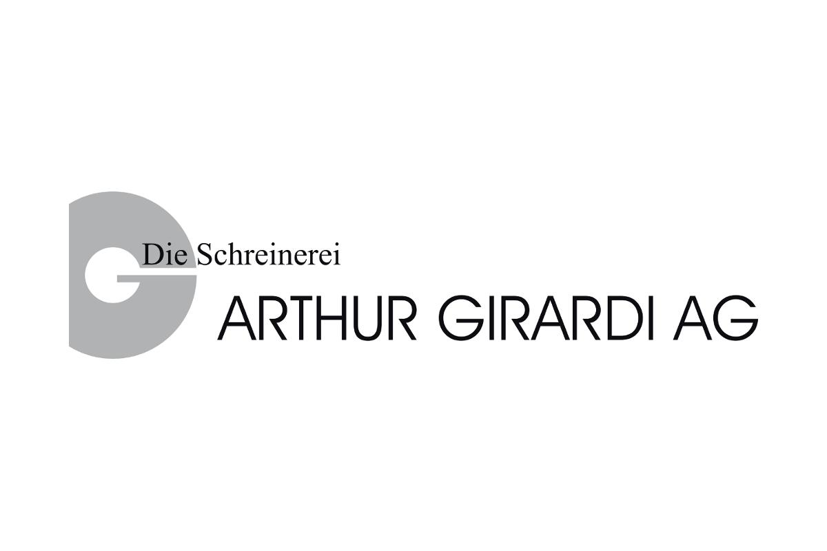 Logo: Arthur Girardi AG - Die Schreinerei