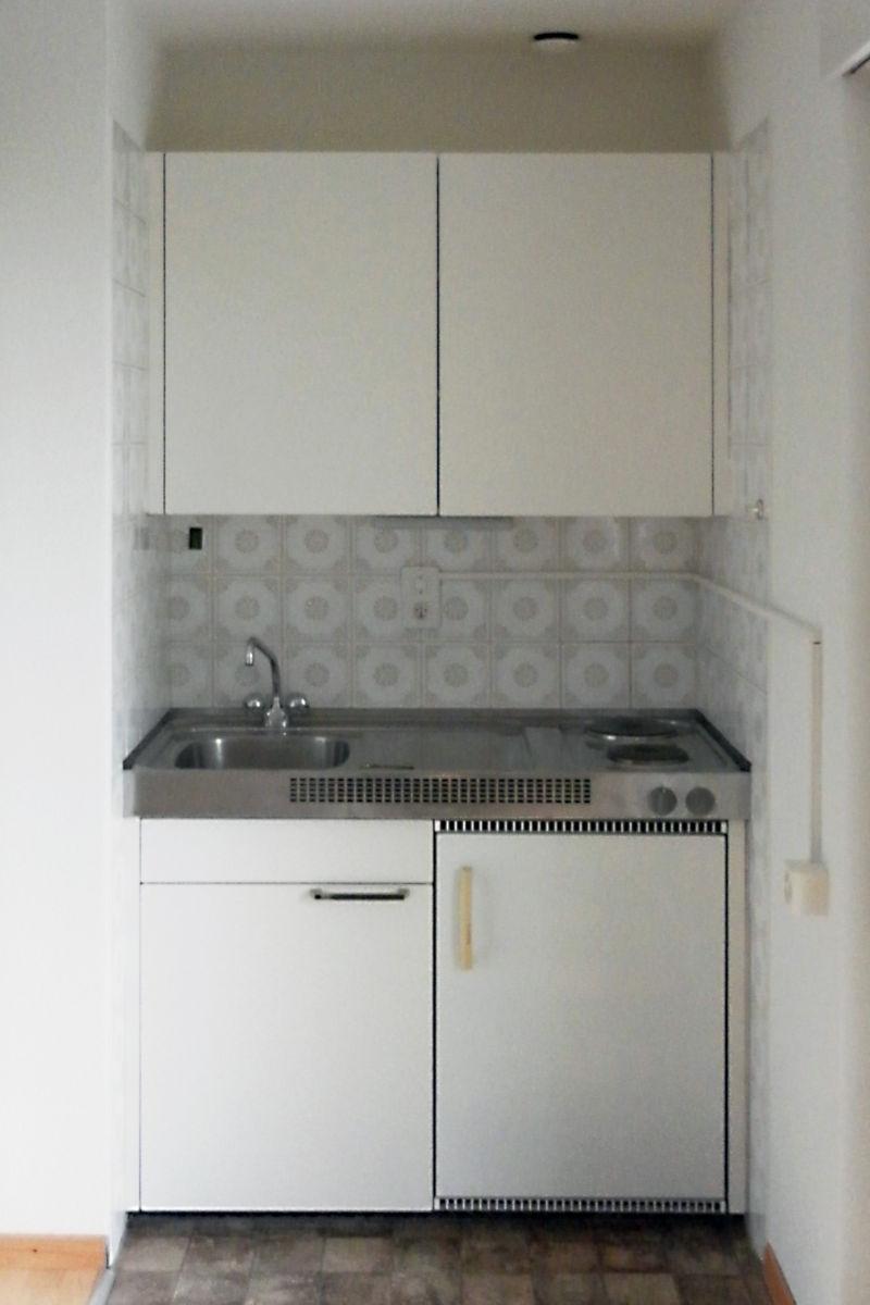 So sah die alte Küche aus.