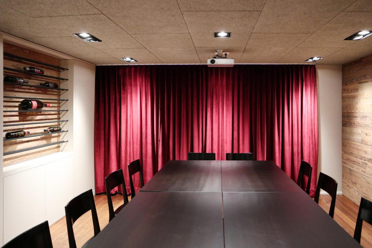 Umbau Sitzungszimmer im Restaurant Weingarten