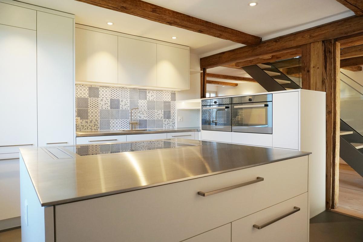 Referenz-Objekt: Neue Küche in Altbau  Arthur Girardi AG - Die