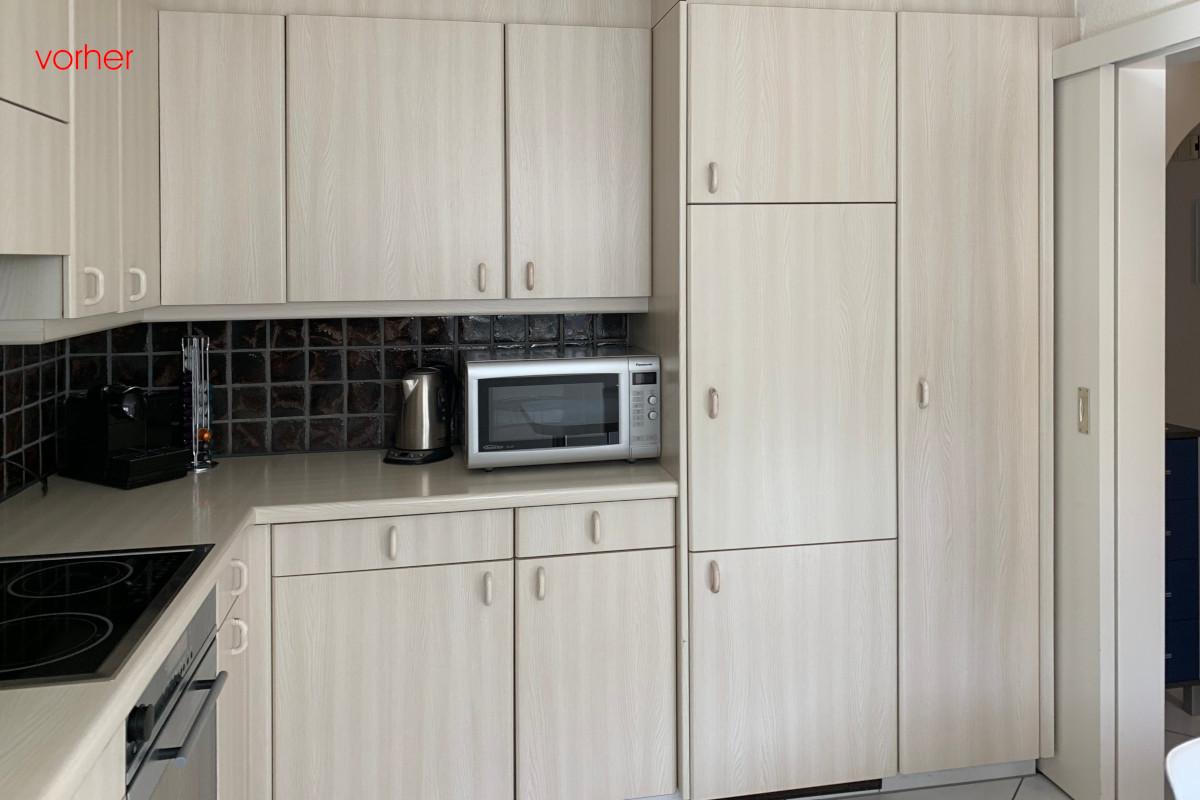 So sah die Küche vor dem Umbau aus