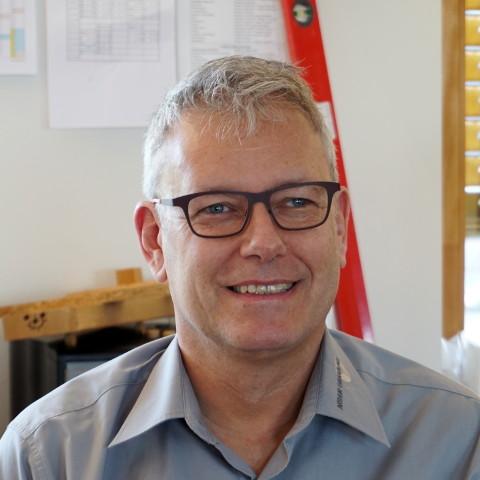 Porträt von Ernst Halter