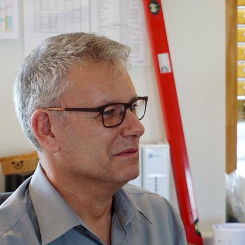 Portrait von Ernst Halter