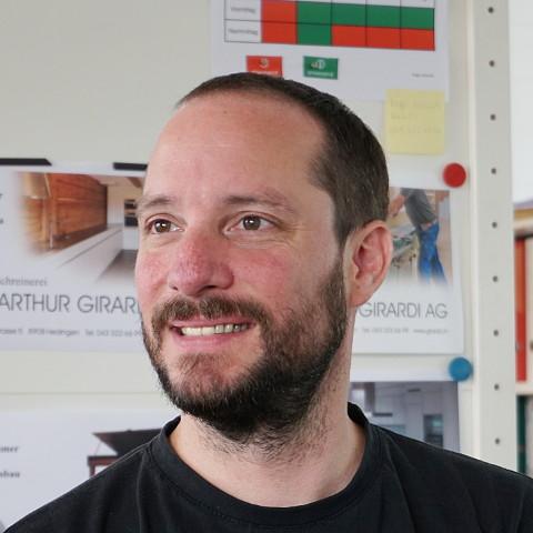 Portrait von Roger Schmutz
